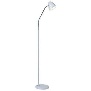 White Minimalist Contemporary Floor Lamp