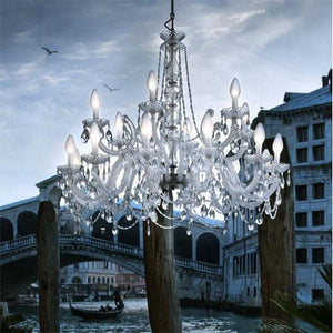 Outdoor Rated Decorative Italian Chandelier | Assorted Sizes-Chandeliers-Masiero (Form)-Lighting Collective