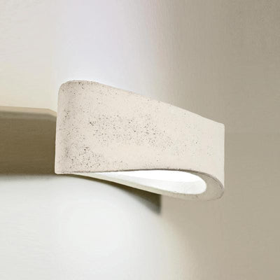 Italian Oblong Clay Wall Light | Lighting Collective