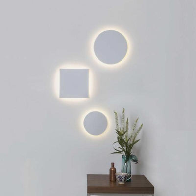 Minimal Lunar Round LED Wall Light | Assorted Sizes | Lighting Collective