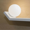 Contemporary White Geometric Wall Light