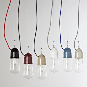 Italian Industrial Single Pendant Light | Toscot | Lighting Collective