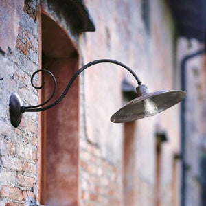 Handmade Italian Exterior Wall Light-Wall Lights-IL FANALE (Lightco)-Lighting Collective