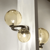 Italian Hand blown Ring Wall Light