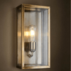 Silver Encased Wall Light