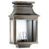 Simple French External Wall Light Brushed