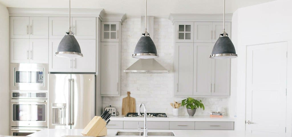 Hamptons-Style Kitchen Island Pendant Lights | Lighting Collective