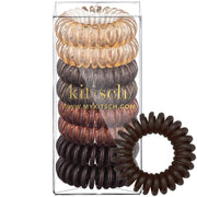 Kitsch 8pc Hair Coils in Brunette