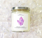 Jax Kelly Amethyst Quartz Candle