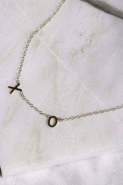 Amarilo 'XO' Necklace