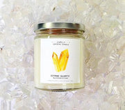 Jax Kelly Candle Citrine Quartz Candle