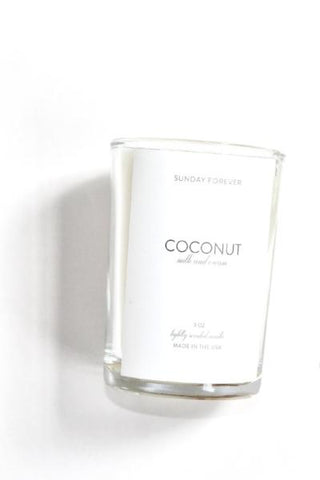 Sunday Forever Coconut Candle