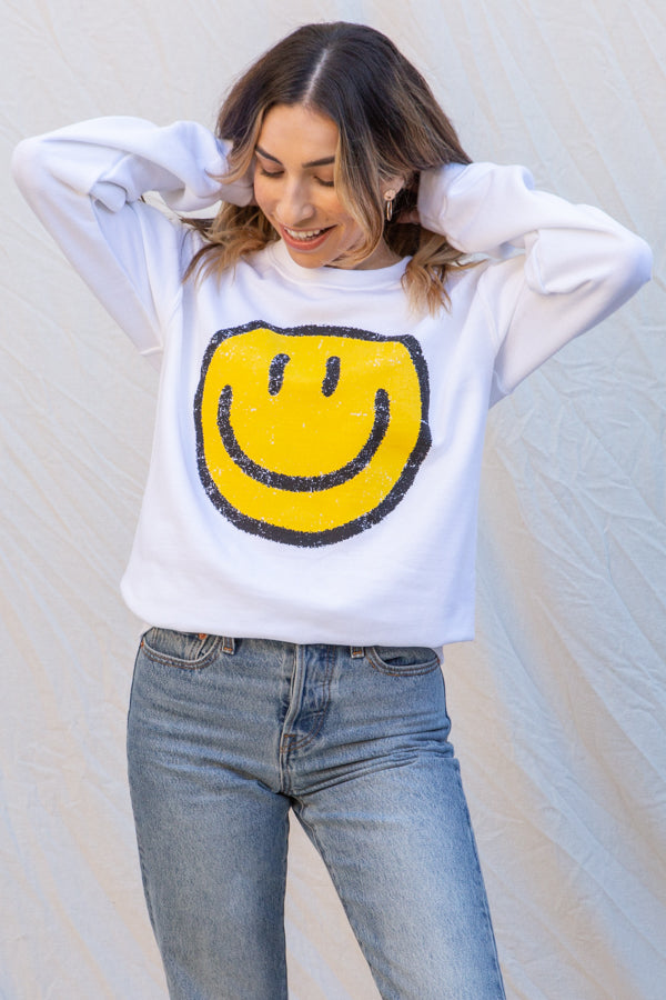 Cj Cruz All the Smiles Pullover