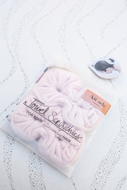 Kitsch Microfiber Towel Scrunchies in Blush