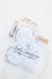 Kitsch Microfiber Towel Scrunchies in Micro Dot