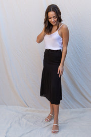 Olivaceous Baila Skirt