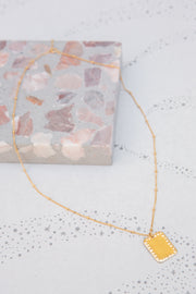 Paradigm Small Rectangle Necklace