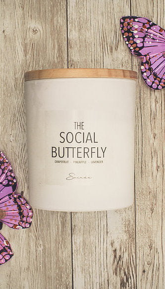 Soiree The Social Butterfly Candle
