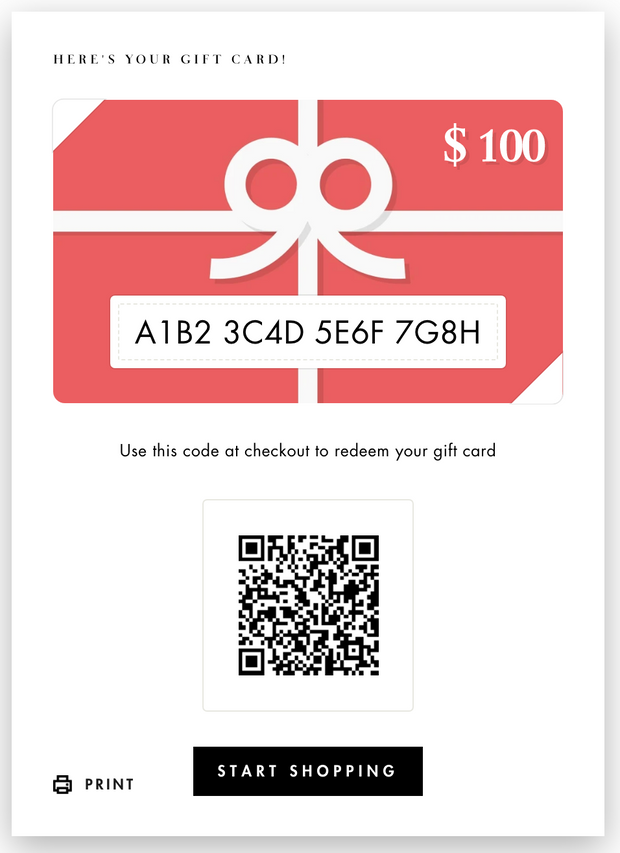 Laurenly E-Gift Card