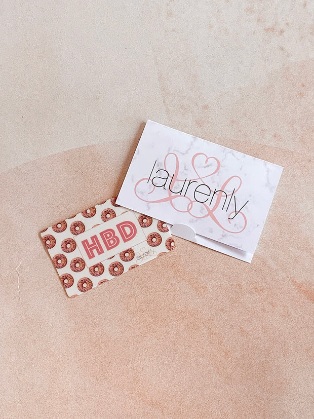 Laurenly Gift Card