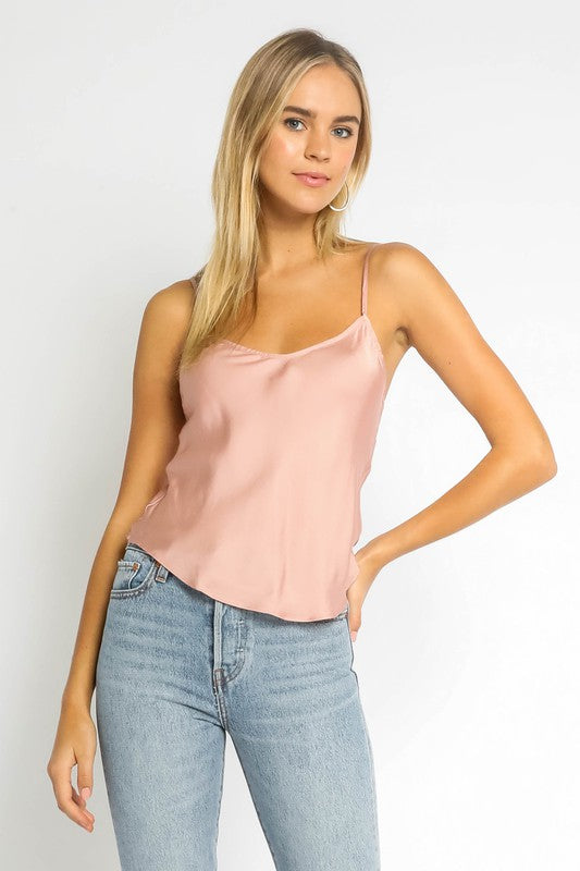 Olivaceous Be Mine Tank in Rose