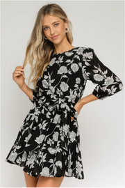Olivaceous Claire Dress