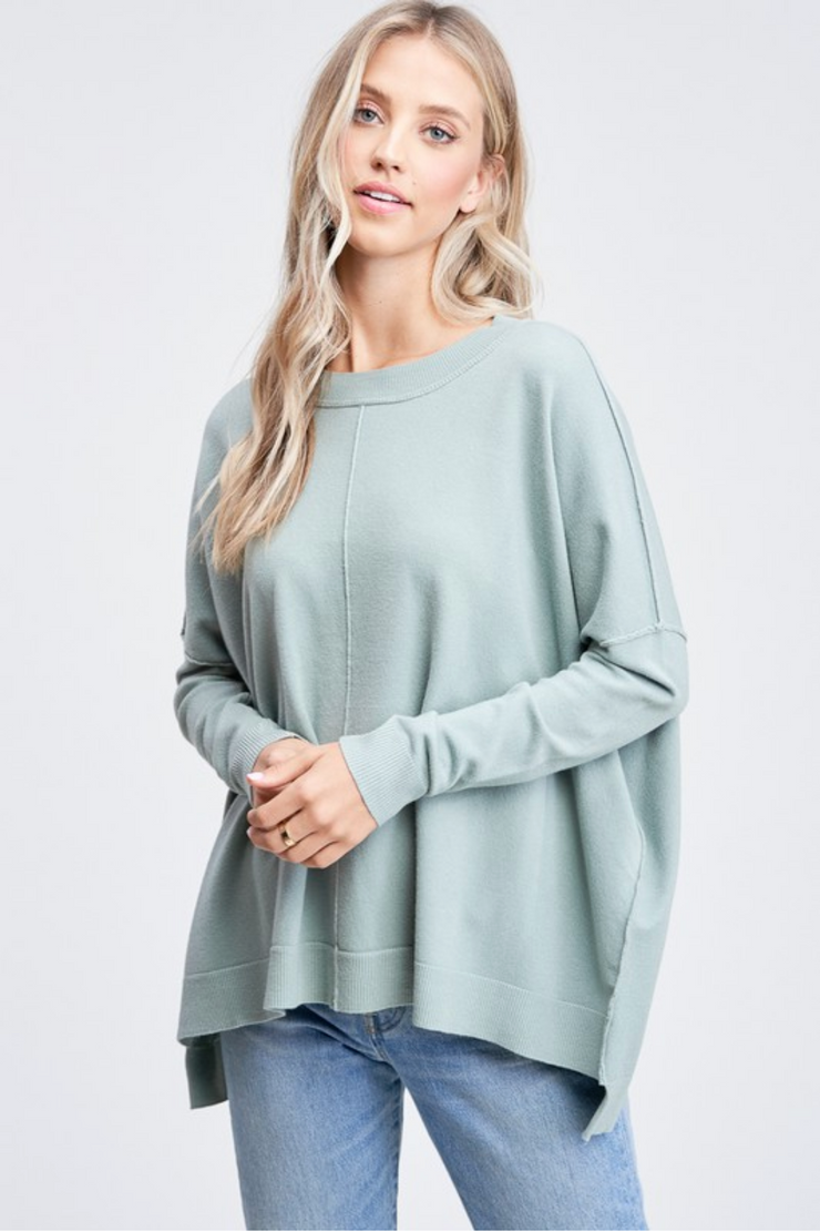 CJ Cruz Abby Sweater in Sage