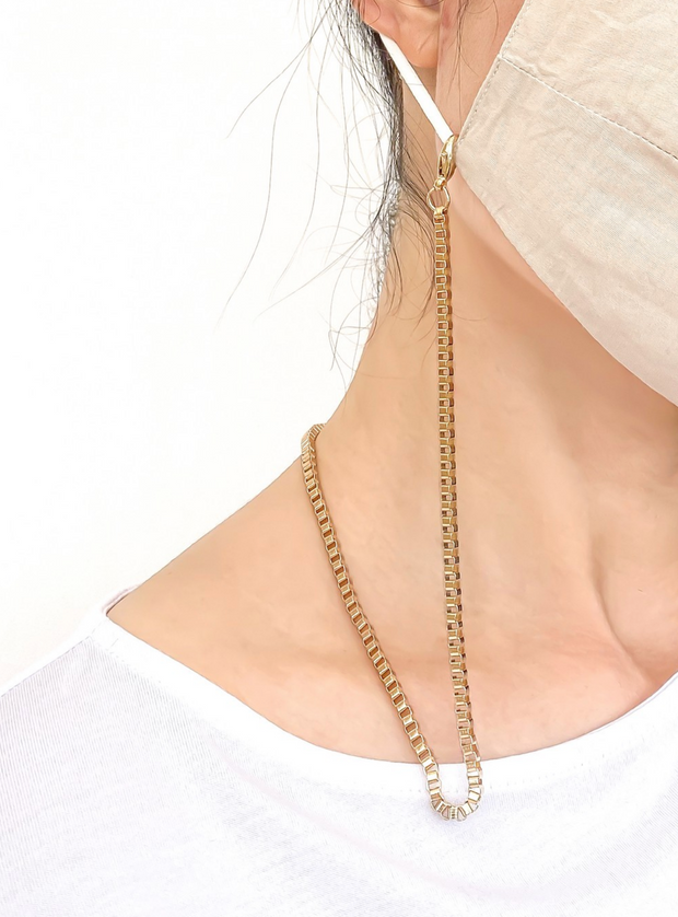 Boxie Face Mask Chain