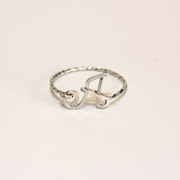 Initial Ring (Silver)