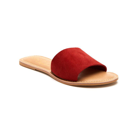 Matisse Cabana Sandal in Red