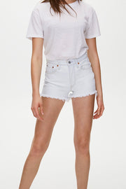 Levi's 501 High Rise Shorts in Trace Indigo