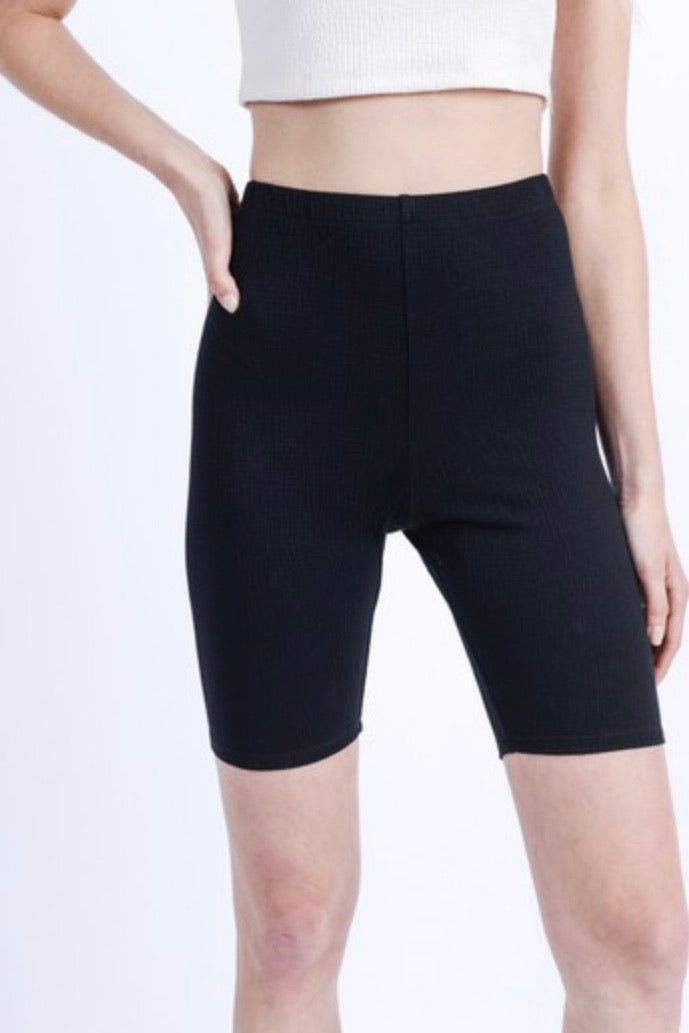 CJ Cruz Essential Biker Shorts