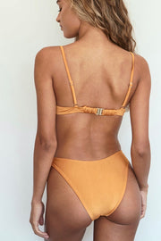 MinkPink Golden Days Scoop Bottoms