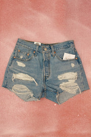 Levi's 501 Original Shorts in Luxor Anubis