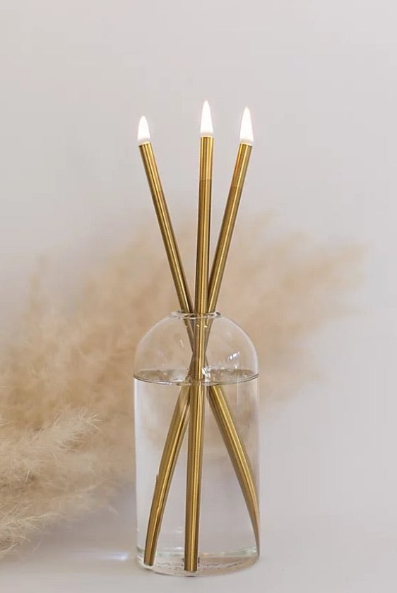 Everlasting Candle Co Candlesticks in Gold