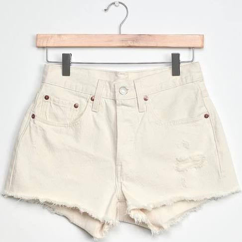 Levi's 501 Shorts in Natural Instinct