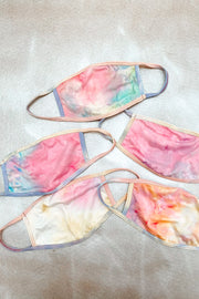 Face Mask in Tie Dye Dreams