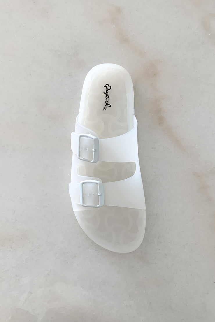 The Delton Slide in White