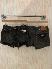 Levi's 501 Original Shorts in Eat Your Words