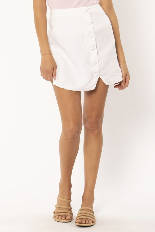 Amuse Society Mari Woven Mini Skirt