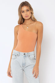 Amuse Society Tempest Knit Bodysuit in Peach