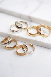 Low Dome Ring