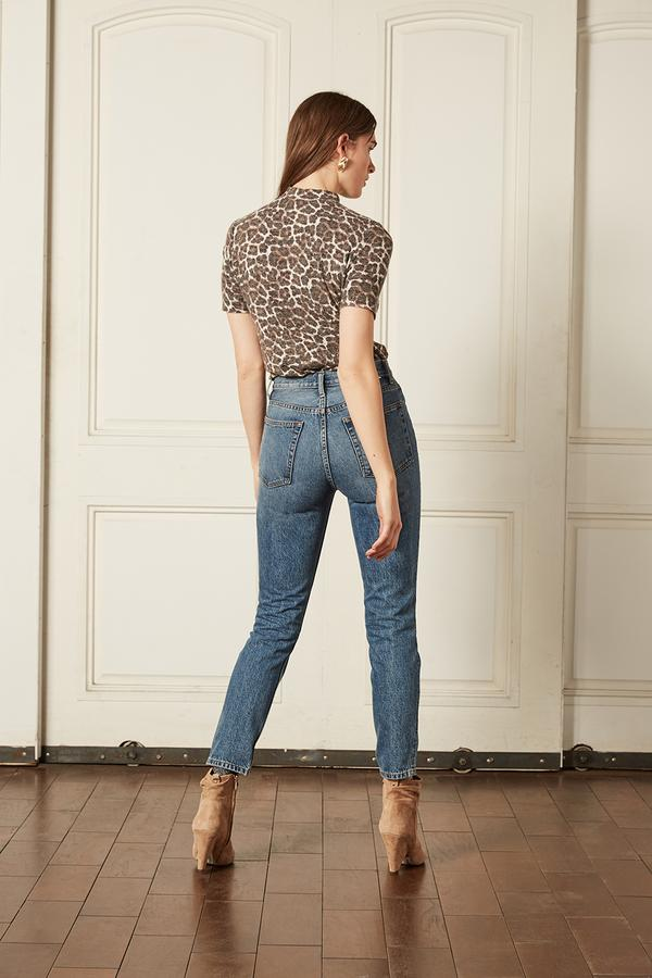Boyish The Billy High Rise Skinny in Freaks