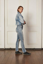 Boyish The Harvey Denim Jacket in Some Like It Hot