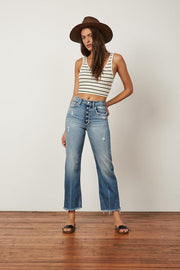 Boyish The Mikey Wide Leg Flare in Two for the Road