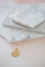 Bracha Alexander Coin Necklace