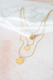 Bracha Pesos Coin Necklace