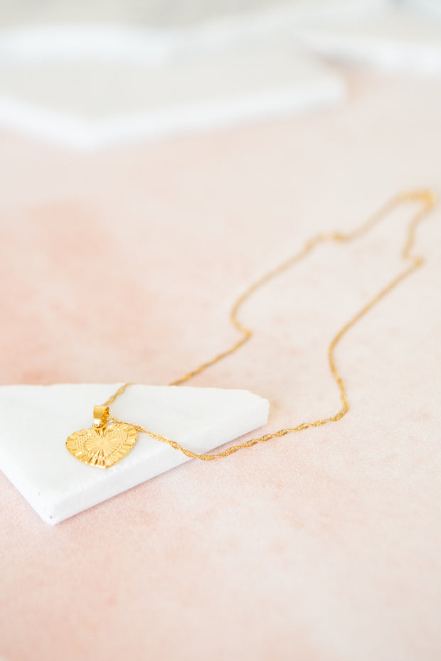 Bracha Sacred Heart Necklace