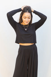 CJ Cruz Kaia Long Sleeve Crop