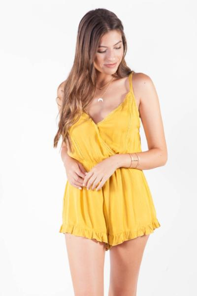 CJ Cruz Mellow Yellow Romper